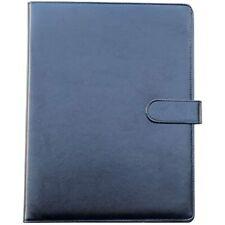 Yansanido Clipboard Folder Portfolioblack Faux Leather Storage A4 Writing Pad