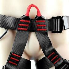 Pro Rock Climbing Downhill Harness Rappel Outdoor Rescue Safety Half Body Belt