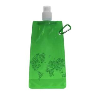 Ultralight Silicone Water Bag Cycling Outdoor Sport Hiking Camping Drink Flask