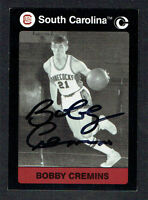 Bobby Cremins signed autograph 1991 South Carolina Collegiate Collection Card