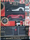 New FAO Schwarz 2 pack Remote Control Sports Italia Car 1:50 Scale LED Lights