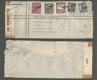 1940s CHILE to USA COVER WW II EXAMINED BY 4030 TAPE ON END