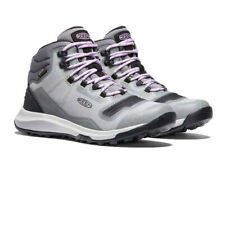 Keen Womens Tempo Flex Waterproof Walking Boots Grey Sports Outdoors Breathable