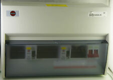 Wylex 10 Way Consumer Unit 100A Mains Switch 2 x 80A RCD (D2007)