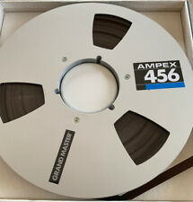 Ampex 456 10.5 inch metal reel With 'Sticky' Tape.