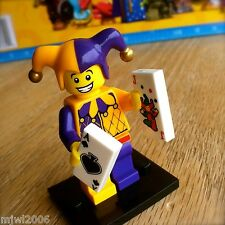 LEGO 71007 Minifigures JESTER #9 Series 12 SEALED Minifigs Court Joker Medieval