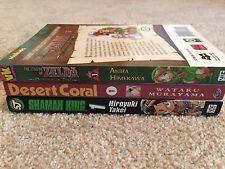 Lot of 3 Manga Shaman King Desert Coral Legend of Zelda Ocarina of Time Vol 1
