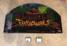 "Bally ""Jungle Treasure"" Slot Machine Glass w/Software FAST FREE SHIP!! Z-2"