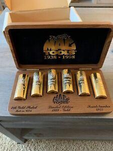 1999 Mac Tools Limited Edition Gold Socket Set