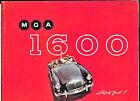 Brochure MG: MGA 1600