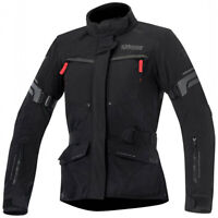 Alpinestars Valparaiso 2 Waterproof Motorcycle Motorbike Jacket Black Grey & Red