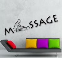 Massage Room Vinyl Wall Decal Sticker Stone Oil Decoration Hot Business Table