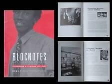 BLOCNOTES n°6 1994 -REVUE ART- ECONOMIE, CHRIS BURDEN, MICHEL JOURNIAC