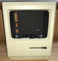 1984 Apple Macintosh Model M0001W 512K EMPTY CASE Housing +Bracket Mac 128K NICE