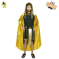 Adult Men King Egyptian Pharaoh Costume Carnival Party Deluxe Egypt Priest Cloth