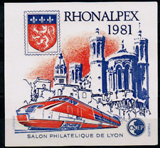 TIMBRE FRANCE BLOC CNEP n°2 NEUF** RHONALPEX TGV  (salon philatélique de Lyon)