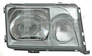 TYC Headlight Smoke Grey Right For MERCEDES A124 C124 S124 W124 1248208659