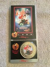 DISNEY MERMAID COIN 1989