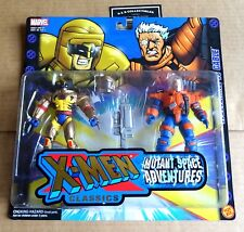 "TOY BIZ  MARVEL X-MEN CLASSICS  ""WOLVERINE vs CABLE"" ACTION FIGURES NEW/UNOPENED"