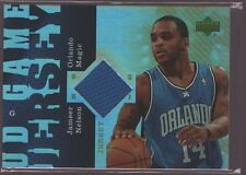 JAMEER NELSON 2006-07 UD RESERVE GAME USED WORN JERSEY PATCH SP MAGIC $12