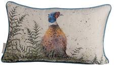 Wrendale Designs - Cushion 50cm X 30cm - Pheasant and Fern