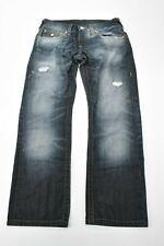 4db409481 True Religion Men s Blue Jeans 32 straight RN 112790 World Tour