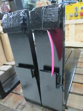 Steel Construction 36l X 4w Fork Lift Forks With7 Tall Crown Fitting Amp Locks