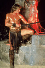 Marc Singer As Dar The Beastmaster 11x17 Mini Poster Full Length With Skeleton