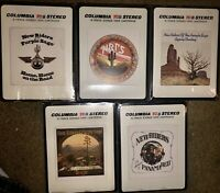 Lot Of 4 SEALED 1 OPEN NEW UNOPENED New riders of the purple Sage 8-TRACK TAPES
