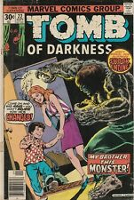 Marvel Comics Tomb of Darkness #22 Sept. 1976