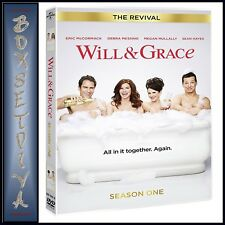 WILL AND GRACE THE REVIVAL SEASON 1 - COMPLETE FIRST SEASON  **BRAND NEW DVD