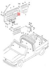 Genuine VW Door Trim NOS 155867015DLFL2
