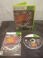 Guitar Hero: Warriors of Rock (Microsoft Xbox 360) - CIB - Tracked Shipping