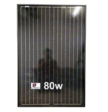 Special High efficiency, 12v 80W Solar PV Panel Mono Caravans Boats Motorhomes