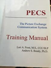 picture exchange communication systems training manuel