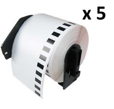 5 X DK11202 hermano compatible térmica 62 X 100 mm dirección/Etiquetas de Envío