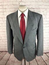 Giorgio Armani Men's Gray Herringbone Wool Suit 42S 32X32 $1,320