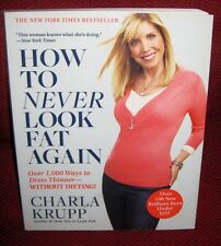 How to Never Look Fat Again SIGNED CARLA KRUPP AUTOGRAPHED Dress thinner