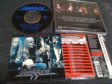 DOKKEN / one live night / JAPAN LTD CD OBI pt.2