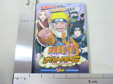 NARUTO RPG Hi no Ishi Guide Book GBA VJ*