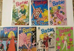 Barbie - Marvel Comics Issue #20 #21 #23 #26 #27 #28 and #29 -7 comics VF/NM