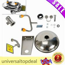 New listing Stainless Steel Emergency Eye Wash Station Eye Wash Bowl Washer Safety Equipment