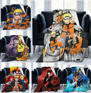 Naruto0 Soft Throw Blanket Warm Flannel Blanket for Couch/Sofa/Bed/Chair Decor