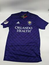 adidas Orlando City Authentic Home Soccer Jersey Size XL Purple Dp4790