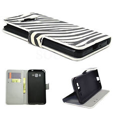 PU Leather Phone Stand Wallet GEL Cover Case For Samsung Galaxy Grand Prime G530