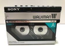 Sony Wm-W800 Double Cassette Corder Walkman
