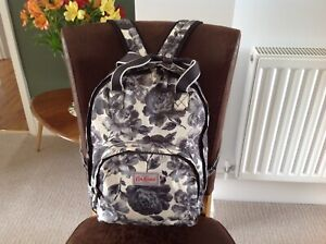 Cath Kidston floral backpack rucksack black & white
