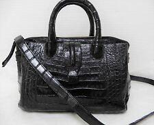 Nancy Gonzalez Crocodile Black Cristina bag NWOT