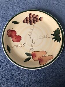 "10-1/2"" Dinner Plate, Beautiful, Tuscan Fruit, Royal Norfolk"