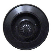 "Byron Rectory 3218 Bk Recessed Electrical Bell Pull 4"" Round Black"